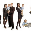 Business family - Stock Photo