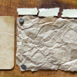 Patterns of old paper frame — Stock Photo