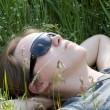 Stock Photo: Relax in grass