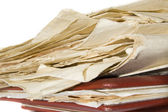 Old paper heap — Stock Photo