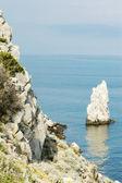 Paisaje de la montaña al mar — Foto de Stock