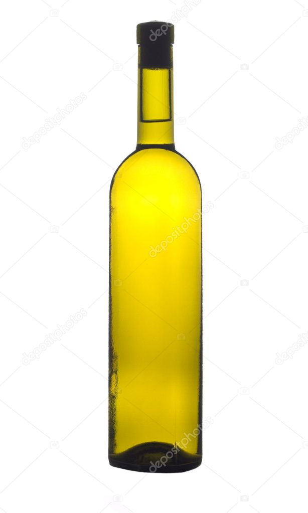 Wine bottle isolated — Stock Photo #4310581