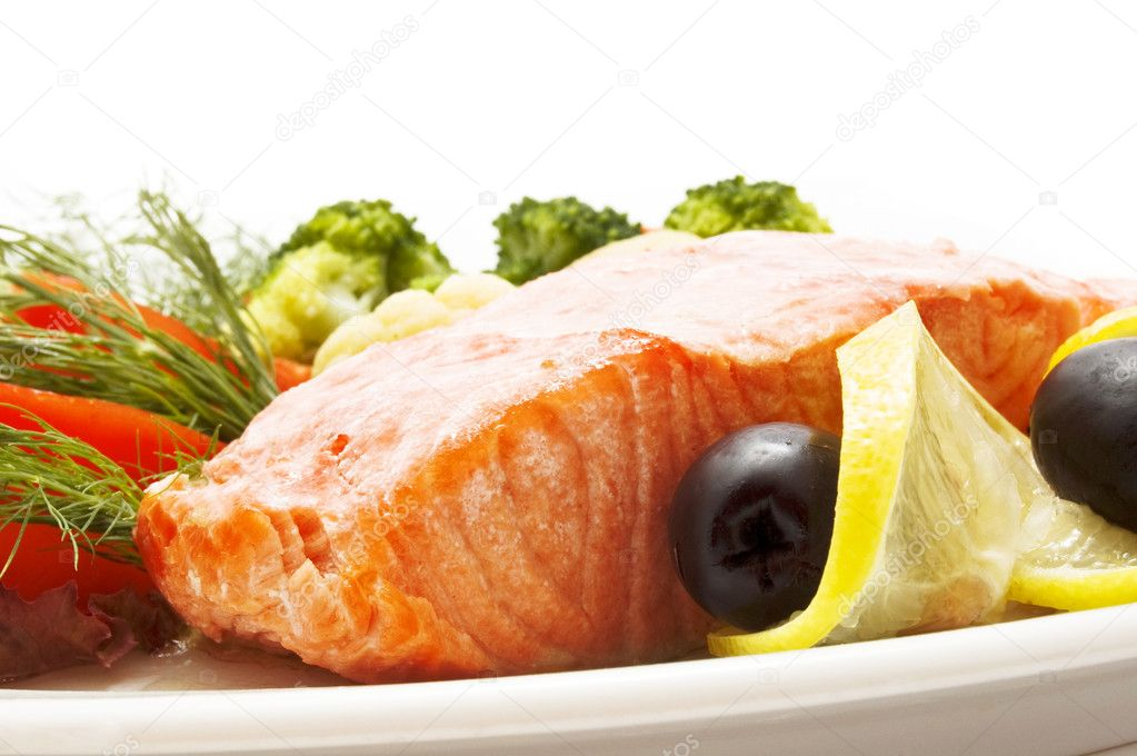 Fish dish — Stock Photo #4317386
