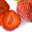 Strawberries isolated — Stock Photo