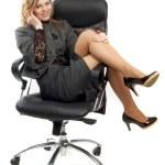 Business woman, portrait — Stock Photo #4320037