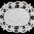 Lace doily - Stock Photo