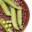 pea pods — Stock Photo