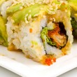 Green Dragon sushi - Stock Photo