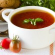 Tomato soup — Stock Photo #4365919