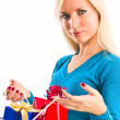 Women with shopping bags — Stock Photo #4372058