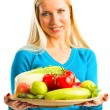 Royalty-Free Stock Photo: Raw food diet