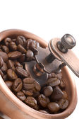 Coffee grinder close-up — Stock Photo