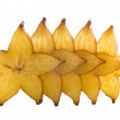 Royalty-Free Stock Photo: Five stars of carambola