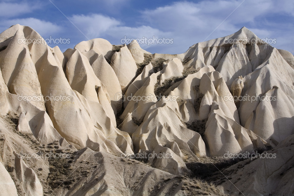 Sandstone formations in Cappadocia, Turkey — Foto de Stock   #2775686