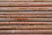Old, rusty metal pipes — Stock Photo