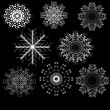 Royalty-Free Stock Obraz wektorowy: Set of snowflake