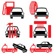 Royalty-Free Stock Vector Image: Services auto