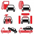 Services auto - Stock Vector