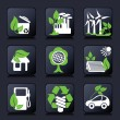 Environment icons — Stok Vektör