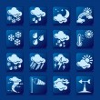 Weather icons — Stock Vector #2840747