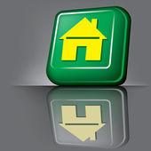 Home button — 图库矢量图片