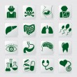 Stock Vector: Medical symbols