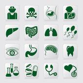 Medische symbolen — Stockvector