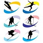 Sport simbol — Stock Vector