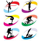 Sport simbol — Vector de stock