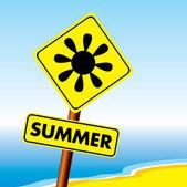 Summer symbol — Stock Vector