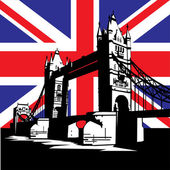 London Bridge — Stockvector
