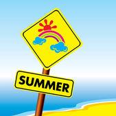Symbol of summer — Stock Vector
