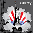 Stock Vector: Liberty