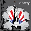 Liberty — Stock Vector