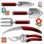 Garden tools — Stock Vector #3404300