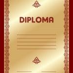 Diploma — Stock Vector #3556699