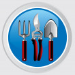 Royalty-Free Stock ベクターイメージ: Garden tools icon