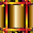 Autumn frame - Stock Vector