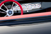 Vintage car dashboard detail — Stock Photo