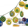 Ornaments from polymer clay — Stock Photo #3505490