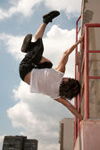 Parkour — Stock Photo