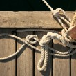 Rope for mooring — Stock Photo