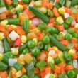 Stock Photo: Mix vegetable