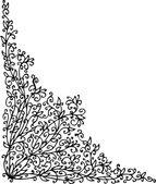 Baroque Pattern vignette LXII — Stock Vector