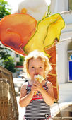 Sweet ice cream — Foto Stock