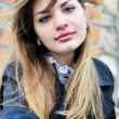 Portrait of teen girl - Stock Photo
