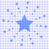 Seamless pattern texture - stars — Stock Vector