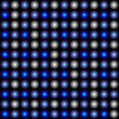 LED matrix — Stock Vector