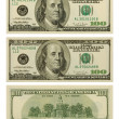 Stock Photo: Banknote 100 dollars