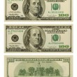 Banknote 100 dollars - Stock Photo